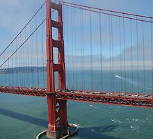 Golden Gate Bridge Flyby by PicsByChris