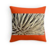 Soft Silversword Fingers Throw Pillow