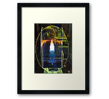 """Shop Window"" (ABC-TV ""Photo Finish"" entry, 2012) Framed Print"