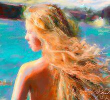 Tanya in the Wind by Eric Melander