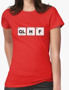 GLHF Periodic Table Womens Fitted T-Shirt