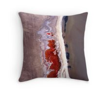 Natures' art in abstract. Throw Pillow