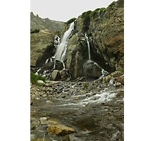 Timberline Falls Photographic Print