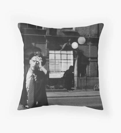 When am I? Throw Pillow