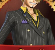 Certified Pirate Sanji Sticker