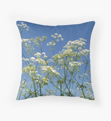 Spring froth Throw Pillow