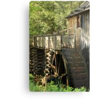 Mill Wheel Metal Print