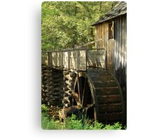 Mill Wheel Canvas Print