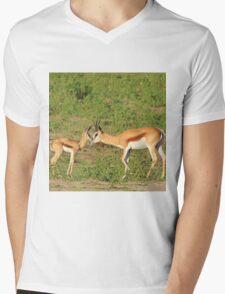 Springbok Love - Proud New Mother Mens V-Neck T-Shirt