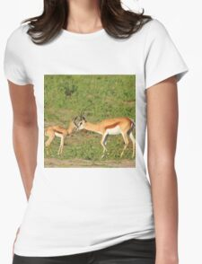 Springbok Love - Proud New Mother Womens Fitted T-Shirt