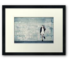 Urban girl Framed Print