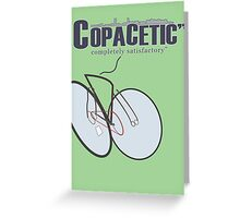 "Copacetic"" ~ completely satisfactory No.2 Greeting Card"