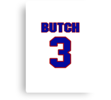 National Hockey player Butch Bouchard jersey 3 Canvas Print
