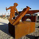 Plane Sculpture @ Avalon Airshow 2011 by muz2142