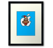Mac Monkey! Framed Print
