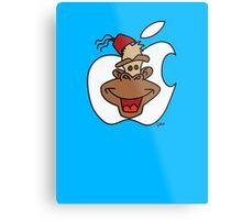 Mac Monkey! Metal Print