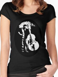 Ace of Double Bass Women's Fitted Scoop T-Shirt