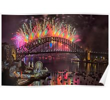 What a Blast - Sydney New Years Day 2015 # 2 Poster