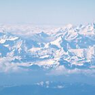 Alps at 20,000 feet by vendetta