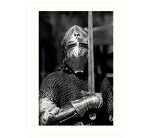 Knight Art Print