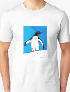 Penguin with blue sky T-Shirt