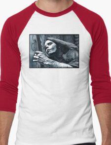 "Bob Weir ""Destination Unknown"" Grateful Dead psychedelic image Men's Baseball ¾ T-Shirt"
