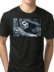 "Bob Weir ""Destination Unknown"" Grateful Dead psychedelic image Tri-blend T-Shirt"