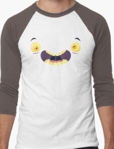 Monster Mugs - Cray Cray Men's Baseball ¾ T-Shirt
