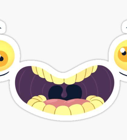 Monster Mugs - Cray Cray Sticker