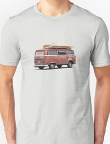 Surf Safari in a VW Kombi T-Shirt