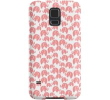 cute pink elephant pattern Samsung Galaxy Case/Skin
