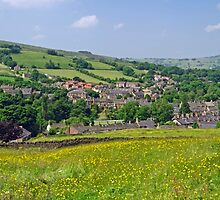 Hayfield, Derbyshire from Snake Path by Rod Johnson