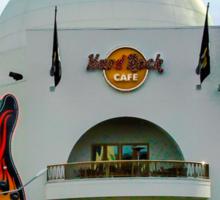 HD Hard Rock Cafe Sticker