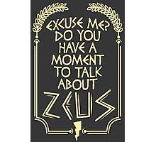 Zeus Photographic Print