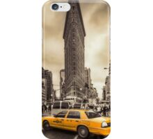 Classic New york city view iPhone Case/Skin