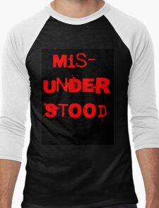 Misunderstood Men's Baseball ¾ T-Shirt