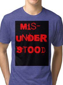 Misunderstood Tri-blend T-Shirt