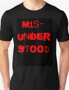 Misunderstood Unisex T-Shirt