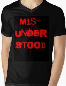 Misunderstood Mens V-Neck T-Shirt