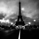 Paris, Eiffel tower by David Petranker