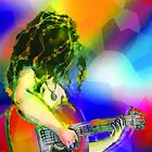 Girl and guitar by Pangaea Productions