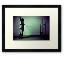 Studio session 001 LK Framed Print