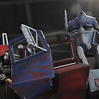 The Great Optimus Prime by Christian Eccleston