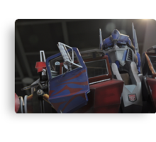 The Great Optimus Prime Canvas Print