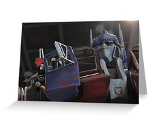 The Great Optimus Prime Greeting Card