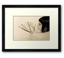 Flamenco HK Framed Print