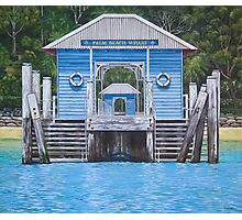 Palm Beach Wharf II Photographic Print
