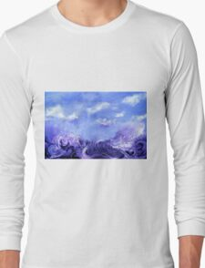 Lavender Seas Long Sleeve T-Shirt