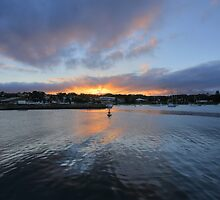 Ulladulla Harbour Sunset by Christopher Meder
