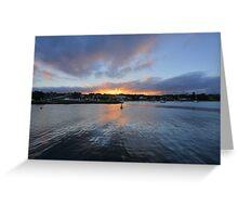 Ulladulla Harbour Sunset Greeting Card